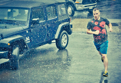 Crossfit in the Rain