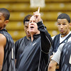 """University of Colorado player, Spencer Dinwiddie, coach Tad Boyle and Andre Roberson,  during media day practice on October 18, 2012.<br /> For more photos and videos of media day, go to  <a href=""""http://www.dailycamera.com"""">http://www.dailycamera.com</a>.<br /> Cliff Grassmick / October 18, 2012"""