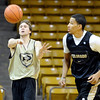 "University of Colorado players, Eli Stalzer and Andre Roberson,  during media day practice on October 18, 2012.<br /> For more photos and videos of media day, go to  <a href=""http://www.dailycamera.com"">http://www.dailycamera.com</a>.<br /> Cliff Grassmick / October 18, 2012"