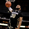 P12 Colorado California(6).JPG Colorado's Carlon Brown goes up for a dunk during the second half of an NCAA college basketball game against California in the semifinals of the Pac-12 conference championship in Los Angeles, Friday, March 9, 2012. Colorado won 70-59. (AP Photo/Jae C. Hong)