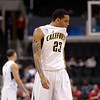 P12 Colorado California Bas.JPG California's Allen Crabbe bites his jersey during the second half of an NCAA college basketball game against Colorado in the semifinals of the Pac-12 conference championship in Los Angeles, Friday, March 9, 2012. Colorado won 70-59. (AP Photo/Jae C. Hong)