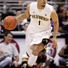 P12 Colorado California(10).JPG California's Justin Cobbs makes his way down the court during the first half of an NCAA college basketball game against Colorado in the semifinals of the Pac-12 conference championship in Los Angeles, Friday, March 9, 2012. (AP Photo/Jae C. Hong)