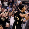 P12 Colorado California(4).JPG Colorado's Spencer Dinwiddie and the fans reacts to Carlon Brown's dunk during the second half of an NCAA college basketball game against California in the semifinals of the Pac-12 conference championship in Los Angeles, Friday, March 9, 2012. Colorado won 70-59. (AP Photo/Jae C. Hong)