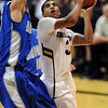 Xavier Talton of CU goes to the baskets against Air Force.<br /> Cliff Grassmick / November 25, 2012