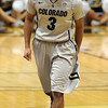 "Xavier Talton celebrates late in the game.<br /> For more photos of the game, go to  <a href=""http://www.dailycamera.com"">http://www.dailycamera.com</a>.<br /> Cliff Grassmick / February 14, 2013"