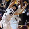 "Sabatino Chen and Andre Roberson battle on the boards against ASU during the second half of the February 16th, 2013 game in Boulder.<br /> For more photos of the game, go to  <a href=""http://www.dailycamera.com"">http://www.dailycamera.com</a>.<br /> Cliff Grassmick / February 16, 2013"