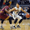 "Askia Booker of Colorado tries to get around Jahii Carson of Arizona State during the first half of the February 16th, 2013 game in Boulder.<br /> For more photos of the game, go to  <a href=""http://www.dailycamera.com"">http://www.dailycamera.com</a>.<br /> Cliff Grassmick / February 16, 2013"