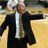 "Cu Coach Tad Boyle yells instructions during the first half of the March 7, 2013 game in Boulder.<br /> For more photos of the game, go to  <a href=""http://www.dailycamera.com"">http://www.dailycamera.com</a>.<br /> Cliff Grassmick / March 7, 2013"