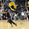 "Ozell Williams leads the team out of the locker room during the first half of the March 7, 2013 game in Boulder.<br /> For more photos of the game, go to  <a href=""http://www.dailycamera.com"">http://www.dailycamera.com</a>.<br /> Cliff Grassmick / March 7, 2013"