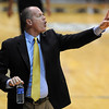 "Tad Boyle works the Texas Southern game <br /> during the second half of the December 22, 2011 game in Boulder.<br /> <br /> For more photos of the game, go to  <a href=""http://www.dailycamera.com"">http://www.dailycamera.com</a>.<br /> December 22, 2011 / Cliff Grassmick"