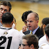 "Colorado coach Tad Boyle  talks to the team  during the second half of the December 22, 2011 game in Boulder.<br /> <br /> For more photos of the game, go to  <a href=""http://www.dailycamera.com"">http://www.dailycamera.com</a>.<br /> December 22, 2011 / Cliff Grassmick"