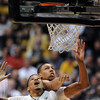 "Andre Roberson gets rebound position of Cedric Martin of Utah during the second half of the February 21st, 2013 game in Boulder.<br /> For more photos of the game, go to  <a href=""http://www.dailycamera.com"">http://www.dailycamera.com</a>.<br /> Cliff Grassmick / February 21, 2013"