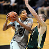 "Andre Roberson of CU drives to the basket past Pierce Hornung of CSU.<br /> For more photos from CU CSU basketball, go to  <a href=""http://www.dailycamera.com"">http://www.dailycamera.com</a>.<br /> Cliff Grassmick / December 5, 2012"