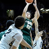 "Colorado State University's Dorian Green takes a shot over Askia Booker during a game against the University of Colorado on Wednesday, Dec. 5, at the Coors Event Center on the CU campus in Boulder. For more photos of the game go to  <a href=""http://www.dailycamera.com"">http://www.dailycamera.com</a><br /> Jeremy Papasso/ CameraUniversity of Colorado's during a game against Colorado State University on Wednesday, Dec. 5, at the Coors Event Center on the CU campus in Boulder. For more photos of the game go to  <a href=""http://www.dailycamera.com"">http://www.dailycamera.com</a><br /> Jeremy Papasso/ Camera"