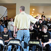 """Tad Boyle thanks all the guests that came to his home for the NCAA selection show.<br /> The University of Colorado Men's basketball team will play UNLV in the first game of the NCAA tournament on Thursday.<br /> For  a video of the Buffs, go to  <a href=""""http://www.dailycamera.com"""">http://www.dailycamera.com</a>.<br /> Cliff Grassmick / March 11, 2012"""