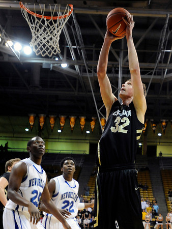 """University of Colorado's Ben Mills goes for a lay-up during a game against the University of New Orleans on Wednesday, Dec. 28, at the Coors Event Center on the CU campus in Boulder. For more photos of the game go to  <a href=""""http://www.dailycamera.com"""">http://www.dailycamera.com</a><br />  Jeremy Papasso/ Camera"""