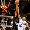 "University of Colorado's Andre Roberson wins the tip off against Antonio Wertz during a game against the University of New Orleans on Wednesday, Dec. 28, at the Coors Event Center on the CU campus in Boulder. For more photos of the game go to  <a href=""http://www.dailycamera.com"">http://www.dailycamera.com</a><br />  Jeremy Papasso/ Camera"