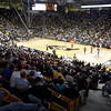 "University of Colorado fans fill the seats during a game against Texas Southern on Tuesday, Nov. 27, at the Coors Event Center on the CU campus in Boulder. For more photos of the game go to  <a href=""http://www.dailycamera.com"">http://www.dailycamera.com</a><br /> Jeremy Papasso/ Camera"