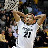 "University of Colorado's Andre Roberson goes for a dunk during a game against Texas Southern on Tuesday, Nov. 27, at the Coors Event Center on the CU campus in Boulder. For more photos of the game go to  <a href=""http://www.dailycamera.com"">http://www.dailycamera.com</a><br /> Jeremy Papasso/ Camera"