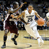 "University of Colorado's Spencer Dinwiddie drives the ball past Dexter Ellington during a game against Texas Southern on Tuesday, Nov. 27, at the Coors Event Center on the CU campus in Boulder. For more photos of the game go to  <a href=""http://www.dailycamera.com"">http://www.dailycamera.com</a><br /> Jeremy Papasso/ Camera"