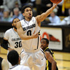 "Askia Booker of Colorado drives past the Oregon defense<br /> during the second half of the February 4, 2012 game in Boulder.<br /> For more photos of the game, go to  <a href=""http://www.dailycamera.com"">http://www.dailycamera.com</a>.<br /> February 4, 2012 / Cliff Grassmick"