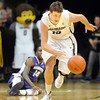 "Shane Harris-Tunks of CU gets a steal against Washington<br /> during the first half of the January 5, 2012 game in Boulder.<br /> For more photos of the game, go to  <a href=""http://www.dailycamera.com"">http://www.dailycamera.com</a>.<br /> January 5, 2012 / Cliff Grassmick"