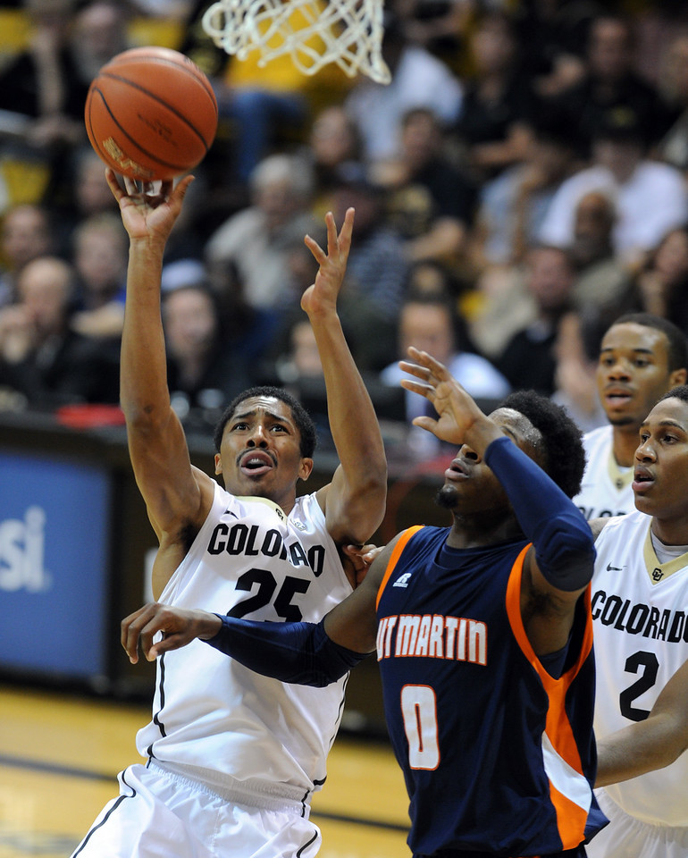 Colorado Tenn.-Martin NCAA Basketball156  Colorado Tenn.-Martin