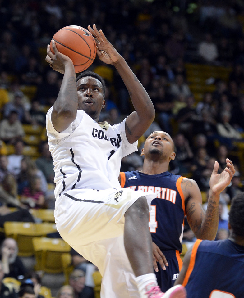 Colorado Tenn.-Martin NCAA Basketball118  Colorado Tenn.-Martin