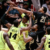 NCAA Colorado Baylor Ba(14).JPG Colorado forward Andre Roberson (21) and Baylor guard Deuce Bello (14) battle with players for the rebound during the first half of an NCAA tournament third-round college basketball game on Saturday, March 17, 2012, in Albuquerque, N.M. (AP Photo/Jake Schoellkopf)