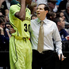 NCAA Colorado Baylor Basket.JPG Baylor head coach Scott Drew, right, talks with forward Quincy Miller during the first half of an NCAA tournament third-round college basketball game against Colorado, Saturday, March 17, 2012, in Albuquerque, N.M. (AP Photo/Jake Schoellkopf)
