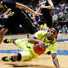NCAA Colorado Baylor Ba(19).JPG Baylor guard Pierre Jackson falls after being tripped by Colorado guard Spencer Dinwiddie during the first half of an NCAA tournament third-round college basketball game on Saturday, March 17, 2012, in Albuquerque, N.M. (AP Photo/Matt York)