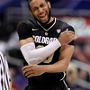 P12 Colorado Arizona Ba(4).JPG Colorado's Carlon Brown reacts after making a basket during the first half of an NCAA college basketball game against Arizona in the finals of the Pac-12 conference championship in Los Angeles, Saturday, March 10, 2012. (AP Photo/Jae C. Hong)