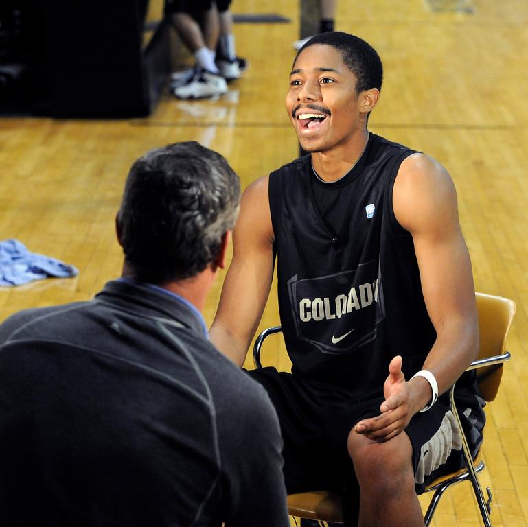 CU Basketball Media Day 2013