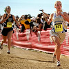 """Legacy High School sophomore Melanie Nun finishes in 22nd place during the women's Class 5A Colorado X-Country State Championship on Saturday, Oct. 30, at the Arapahoe County Fairgrounds in Aurora.<br /> For more photos go to  <a href=""""http://www.dailycamera.com"""">http://www.dailycamera.com</a><br /> Jeremy Papasso/ Camera"""