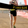 """Nederland High School junior Kelley Robinson finishes in first place during the women's Class 2A Colorado X-Country State Championship on Saturday, Oct. 30, at the Arapahoe County Fairgrounds in Aurora.<br /> For more photos go to  <a href=""""http://www.dailycamera.com"""">http://www.dailycamera.com</a><br /> Jeremy Papasso/ Camera"""