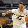 "Chucky Jeffery of CU on the move against Arizona<br /> during the first half of the February 9, 2012 game in Boulder.<br /> For more photos of the game, go to  <a href=""http://www.dailycamera.com"">http://www.dailycamera.com</a>.<br /> February 9, 2012 / Cliff Grassmick"