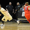 "Chucky Jeffery gets a rebound during the first half of the January 20th, 2013 game in Boulder.<br /> For more photos of the game, go to  <a href=""http://www.dailycamera.com"">http://www.dailycamera.com</a>.<br /> Cliff Grassmick / January 20, 2013"