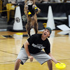 """The Disc Dogs performed at halftime of the CU CSU women's game.<br /> For more photos from CU CSU basketball, go to  <a href=""""http://www.dailycamera.com"""">http://www.dailycamera.com</a>.<br /> Cliff Grassmick / December 5, 2012"""
