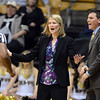 "CU coach Linda Lappe can't believe the call during the first half of the February 22nd, 2013 game in Boulder.<br /> For more photos of the game, go to  <a href=""http://www.dailycamera.com"">http://www.dailycamera.com</a>.<br /> Cliff Grassmick / February 22, 2013"
