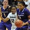 "Ashley Wilson of CU defends Talia Walton of Washington.<br /> For more photos of the game, go to  <a href=""http://www.dailycamera.com"">http://www.dailycamera.com</a>.<br /> Cliff Grassmick / February 24, 2013"