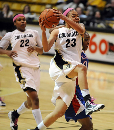 Colorado Kansas Women's Basketball