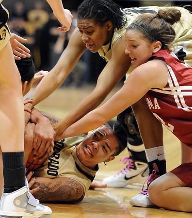 Colorado Oklahoma NCAA Women's Basketball
