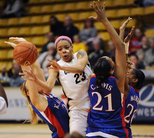 Colorado Kansas Women's Basketball