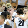 "The Colorado Buffaloes were disappointed with the overtime loss to UCLA on January 29, 2012 game in Boulder. <br /> For more photos of the game, go to  <a href=""http://www.dailycamera.com"">http://www.dailycamera.com</a>.<br /> January 29, 2012 / Cliff Grassmick"