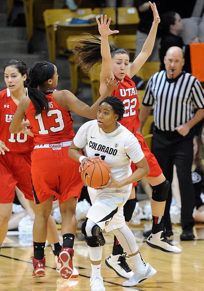 Colorado Utah NCAA Women's Basketball1  Colorado Utah NCAA Women