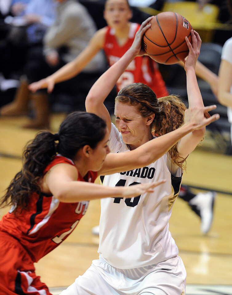 Colorado Utah NCAA Women's Basketball45  Colorado Utah NCAA Wome