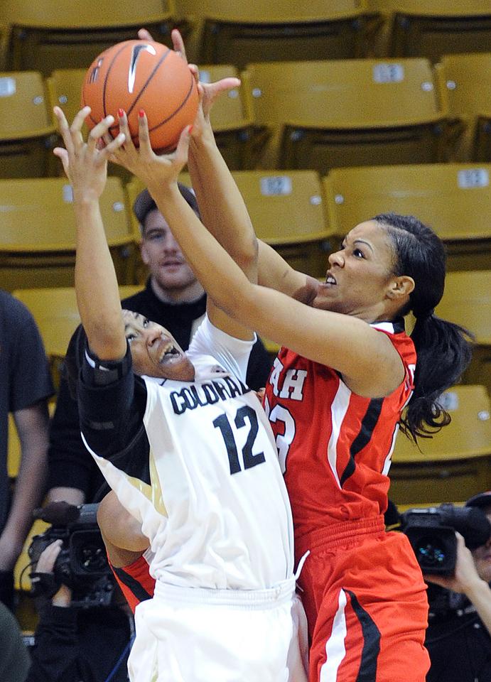 Colorado Utah NCAA Women's Basketball8  Colorado Utah NCAA Women
