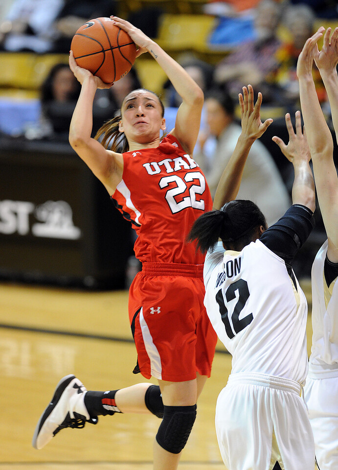 Colorado Utah NCAA Women's Basketball34  Colorado Utah NCAA Wome