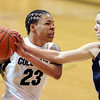 "Chucky Jeffery of Colorado tries to drive around Devon Kane of Villanova during the second half of the March 22, 2012 game in Boulder. <br /> For more photos of the game, go to  <a href=""http://www.dailycamera.com"">http://www.dailycamera.com</a>.<br />  Cliff Grassmick / March 22, 2012"
