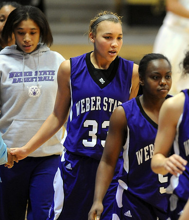 "Carlee Lough (33) of Weber State played at Fairview High School.<br /> For more photos of the game, go to  <a href=""http://www.dailycamera.com"">http://www.dailycamera.com</a>.<br /> December 17, 2011 / Cliff Grassmick"